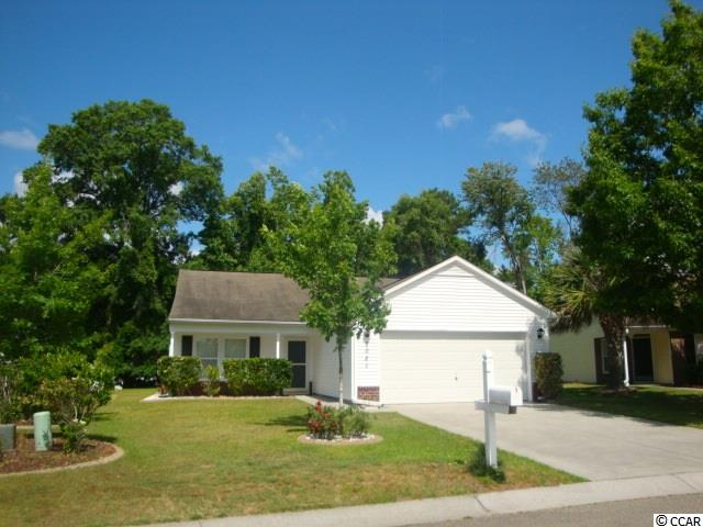Located in Bellegrove Preserve-Oaks Section, this home has everything that Carolina Forest has to offer. Located off International Drive, Close to golf, shopping, great restaurants, entertainment, Grand Strand Regional Hospital, new McLeod Medical Center, Horry County Fire Station, Recycling Center, Horry County Academy of Arts Science and Technology School, Lowes Food all with 5 minutes away. About 15 minutes from Myrtle Beach Ocean Blue waters. Easy access to hwy 31, Hwy 22, Hwy 501 and Hwy 90. Two car garage, single level, 3 bedrooms and 2 full baths, front porch on very nice large lot backs up to natural area, Landscaped, backyard can be fenced in. This is a great for first time home buyer, someone that wants to be close to everything but not directly on the beach area. Feel like taking a dip to cool off during those hot summer days ? You are within a short walking distance to the community pool which is included in your very low HOAs. Nice small playground for kids also kids can attend the award winning Ocean Bay and Carolina Forest schools.Let's schedule an appointment ! All measurements and square footage are approximate and not guaranteed. Buyer is responsible for verification.
