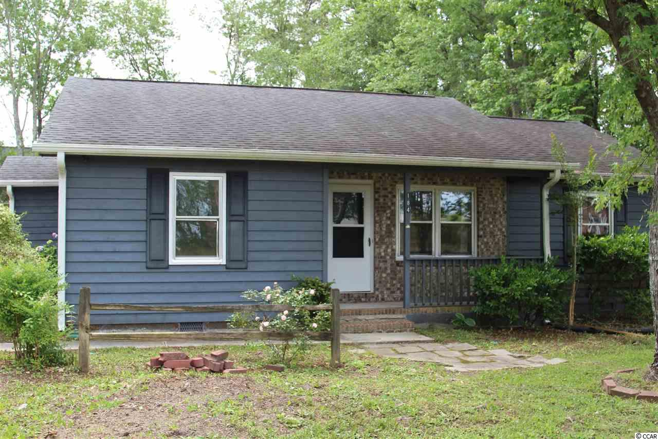Great potential in this 3-bedroom/2-bath home situated on a spacious corner lot. No HOA Fees, No flooding. Close to schools, the beach, the Intracoastal Waterway, Myrtle Beach attractions and dining. New floor and sub floor in the living/dining room. Roof is 9 years young (approximately).