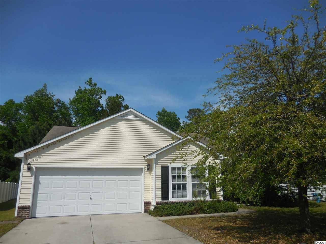 New Listing in Carolina Forest Bellegrove The Hemingway model. Large and with an extra den or fourth bedroom. Huge back yard that backs up to trees. Front porch,back patio New dishwasher and microwave. New carpet,freshly painted. Buyer responsible for verification of square footage.