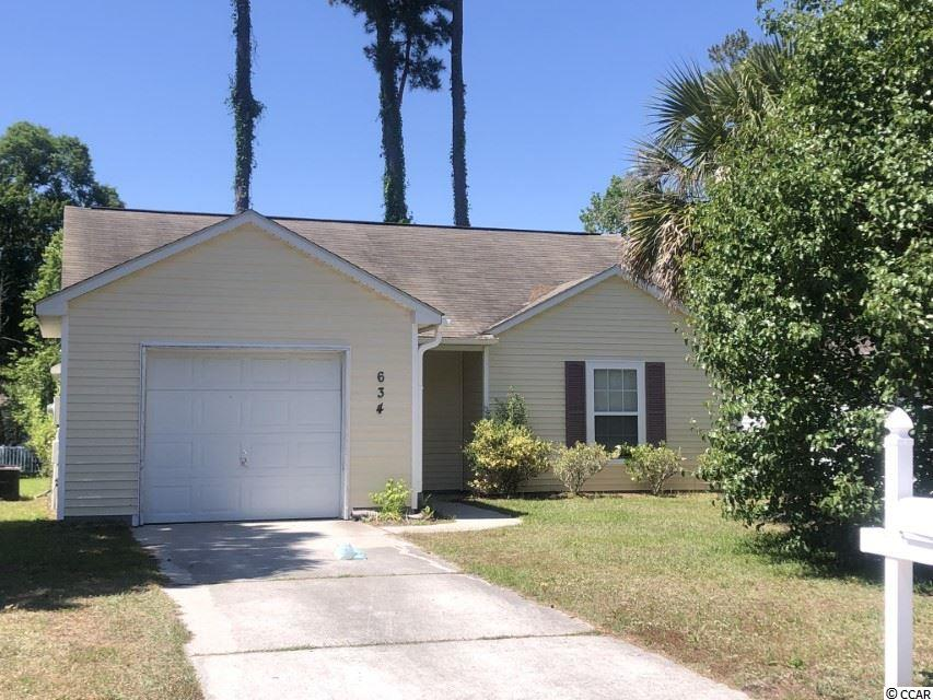 Welcome to Bellegrove Preserve in Carolina Forest. Wonderful community that caters to family life. This 3 bedroom / 2 bath home has 1-car garage with open concept. Spacious family room off of kitchen area. Washer / Dryer right off of kitchen. Master bedroom with walk in closet. All guest rooms have adequate closet space. Enjoy the sounds of nature on your screened in porch overlooking the water. Large community pool and children's playground with very low HOA dues. Conveniently located to shopping, dining, and entertainment. Located in the award winning Carolina Forest school district. Approx. 15 min drive to the beach. Schedule your showing today. This one won't last long! Square footage is approximate and not guaranteed. Buyer is responsible for verification.