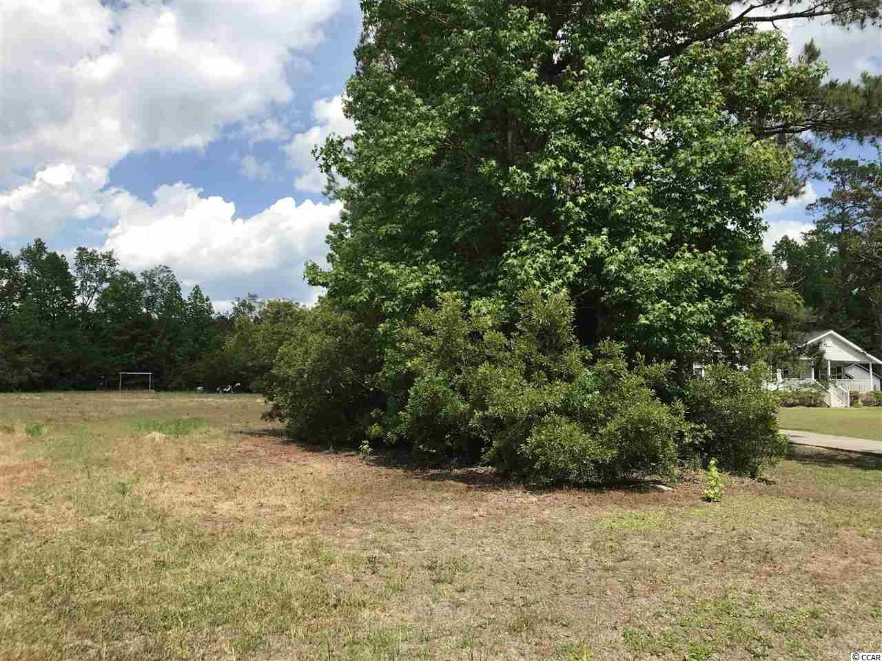 One acre lot with septic installed and has public water.  Cleared and ready for your new home.  Row of trees on the right side of the lot gives you privacy. No HOA fees and outside the city limits.