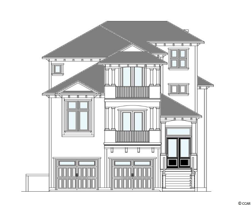 """Custom home to be built on the Intracoastal Waterway. This brand new home will be placed on a Waterway Lot that already has a dock and boat lift in place. The main floor will have 13' Ceilings with coffered, and trays throughout.  The interior will have a custom kitchen with 80"""" cabinets, European wire brushed white oak hardwood floors, tiled showers, 8 ft doors with interior transoms, intercom system, security cameras, wrap around porch, custom fabricated horizontal railings, game room, private bathrooms for each bedroom and so much more.  Exterior of the house will feature an outdoor kitchen, and floating dock with 16,000lb Tide Tamer boat lift. The Boardwalk on the Waterway features private boat storage, private boat launch, community day docks, a gazebo on the waterway and a boardwalk that stretches over 3000ft on the Waterway.  Seller is a SC Licensed Realtor."""