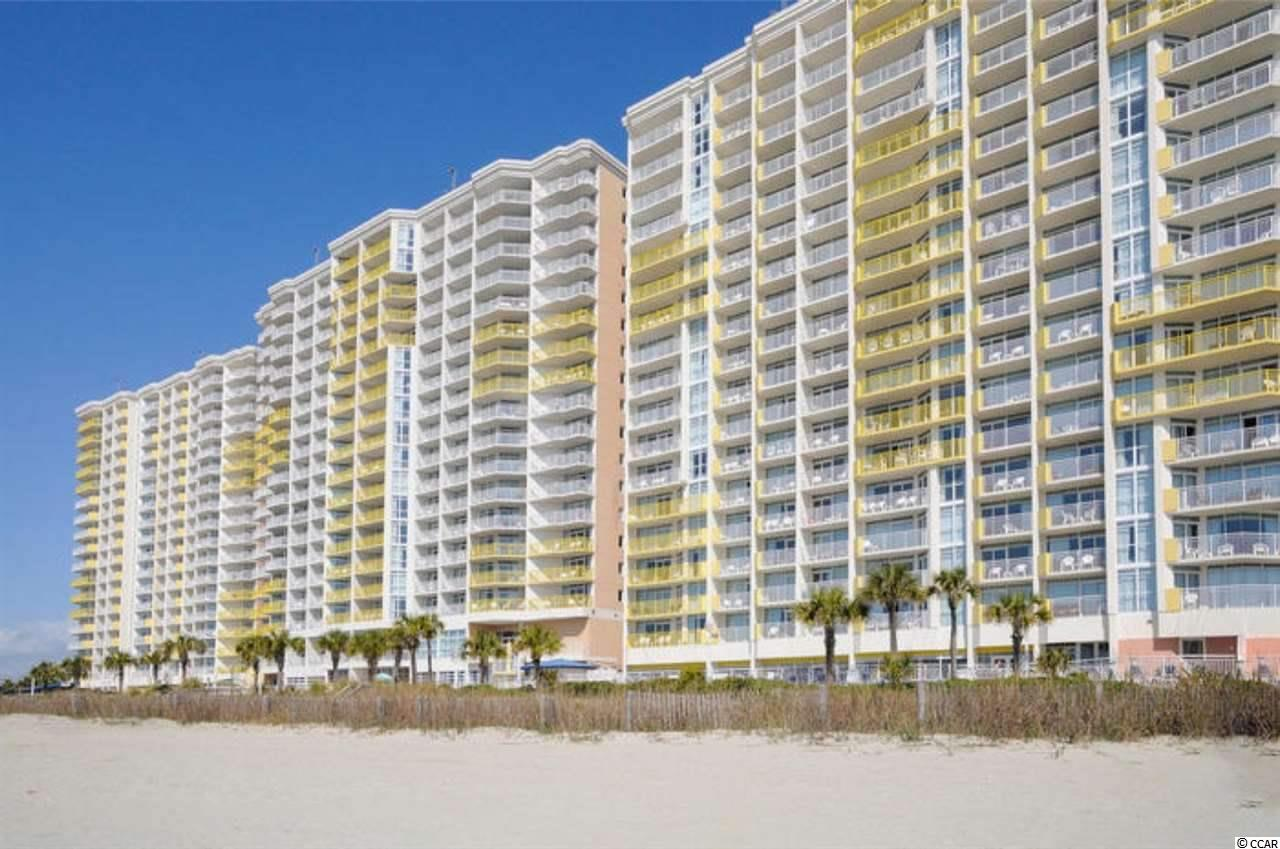 Come check out this great 14th Floor true 1 Bedroom Oceanfront Condo in the Baywatch Resort located in the Crescent Beach area of North Myrtle Beach! This unit has a new HVAC that was replaced in 2018 and is a true 1 bedroom floor plan that also includes a murphy bed for extra guests. The kitchen has a full size refrigerator, stove and new cabinets, as well as new vinyl plank flooring throughout. The bathroom has a Jacuzzi Tub. Drive up to the front steps, be greeted by a bell captain to assist with luggage and valet parking! There is a concierge service, as well as the convention facilities, a full service restaurant and they are all located in the Central Tower! Baywatch has indoor/outdoor pools, lazy river, Jacuzzis, fitness, convention space, restaurant, sports and a tiki bar - everything needed for a great vacation! HOA fees are very affordable and include electric, cable and internet.