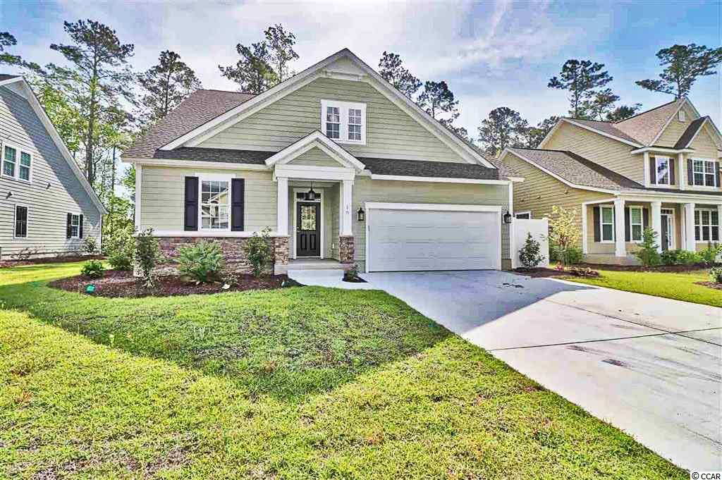 Reflection Pointe is a small Garden City subdivision only a short golf cart ride away from the beach and very convenient to restaurants, shopping, etc. You will not find a more friendly neighborhood, and you will find that the community pool and clubhouse become the gathering area for most summer afternoons. Work with our preferred builder, Port City Homes on one of our floor plans, or have them draw and build your dream home. This home is the Pebble Beach floor plan which offers open concept casual living, while boasting a large family and kitchen space with a large counter height work island. The family room opens to a private covered porch for ultimate privacy and shaded southern living at it's finest. The Pebble Beach features a main level master bedroom with tray ceilings and a large oversized walk-in tiled shower. The main level also features two additional bedrooms and a hall bath. Upstairs you will find a second family room space, as well as an additional bedroom and full bath. This home is perfect for entertaining or hosting family and guests. For a limited time, interior selections may still be chosen.  Standard features include: Stainless appliances, natural gas range, granite counter tops. Nine foot ceilings, R-30 Insulation and R-13 Exterior Wall Insulation, Tankless Water Heater, Home Security Pre-Wire, Carrier 14 Seer HVAC System, plus much more. The opportunities are endless here at Reflection Pointe.  For additional cost, our floor plans can accommodate an elevator, additional bedroom(s), screened-in porch, outdoor kitchen, etc. Come visit with us at Reflection Pointe and let us fill you in on the excitement! Starting at very affordable prices considering the proximity to the ocean, you should walk away very impressed with our pricing and construction quality.