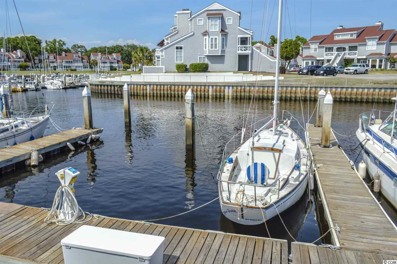 PRIME located 42' boat slip in Mariners Pointe - a hidden intracoastal waterway community/marina in Little River which provides no bridge access to the Atlantic Ocean less than 3 miles away! Boat Slip #S-22 provides easy access in & out as its located in the channel of the marina - straight shot to the intracoastal waterway. Mariners Pointe features an on-site clubhouse with bar, game room, study, large outdoor pool & hot tub overlooking the marina, and basketball/tennis courts. Other amenities include a pump out station, storage locker and on-site dock master. Electric metered separately. Close to historic Little River fishing village - lots of shopping, fresh seafood dining, and places to cast a line. Affordable way to take advantage of the relaxed Little River lifestyle of being on the water!