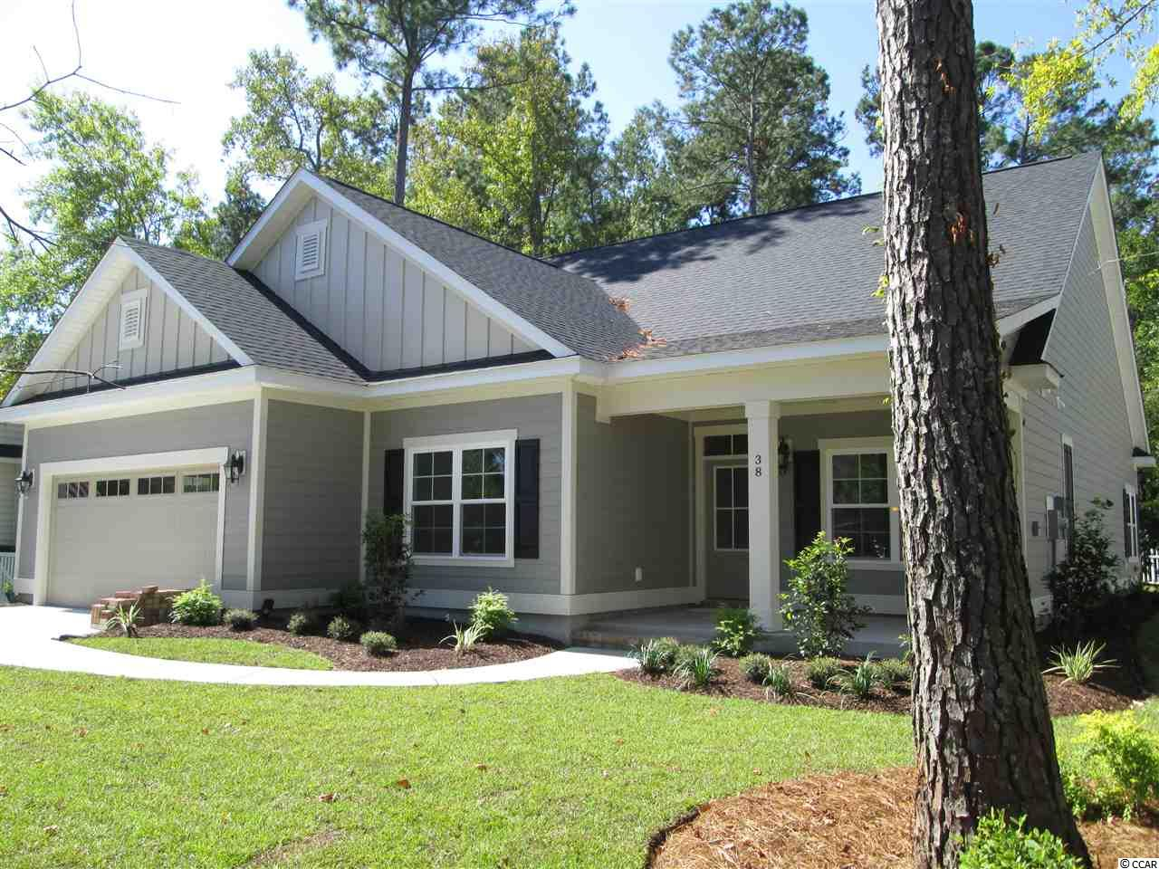 "New Construction Home that will be ready MID SEPTEMBER in the popular Ricefields Plantation Neighborhood in Pawley's Island.  This One Level Home with Bonus Room is nestled onto a wooded lot and offers 3 Bedrooms, 2 Full Bathrooms, Formal Dining Room and an Open Kitchen/Breakfast Nook/Living Area all on the first floor.  The Kitchen features a spacious center island and large walk-in pantry with Butler's Pantry.  The easy flow of this home is perfect for every day living as well as hosting large gatherings.  The Living Area is spacious with a fireplace along with easy access from the living/dining/kitchen to the rear covered porch.  The bedrooms are of a split design with the Master Bedroom being located on the rear of the home and features a large walk-in closet.  The generous size Master Bath features double vanity, large walk in tile shower and separate separate water closet.  Both additional bedrooms are a minimum of 12 x 12 in size with the 2nd bedroom featuring a large walk in closet as well. Upstairs you will find a very spacious Bonus Room generous sized light storage closet. Residents of Ricefields Plantation can enjoy use of the Neighborhood Pool, River Walk and Tidal Boat Ramp with Intracoastal Waterway access. Golf Carts are allowed in the Community and also feature sidewalks for community walking.  Ricefields Plantation is convenient to top notch golf such as ""Caledonia"" which is located next to the neighborhood.  It is convenient to the family fun in Myrtle Beach, Restaurants in The Marsh Walk in Murrells Inlet and is just a short drive to Charleston."