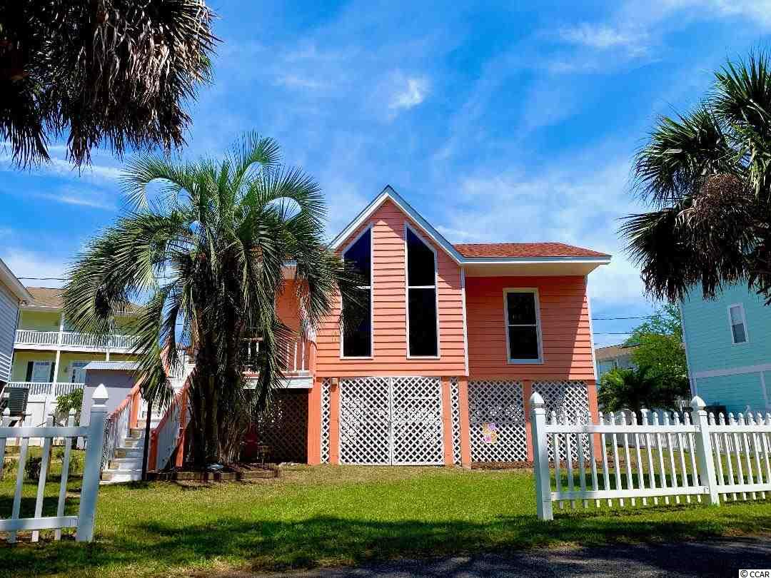 "Welcome to your new ""Pretty As A Peach"" coastal oasis! This home comes FULLY FURNISHED and move in ready!!! The property was recently updated with a new HVAC unit, exterior paint, sofa/loveseat combo, and 50 in. flat screen TV!!! Located in Garden City Beach, your ""Peach"" is but a quick walk or breezy bike ride away from the glistening sparkle of the Atlantic Ocean. Soak in the town's unique charm as you take a stroll down Atlantic Avenue, and enjoy the endless entertainment and dining options! This two bedroom, two bath charmer is just a quick golf cart ride away from Woodland Drive's complimentary parking and beach access! ""The Peach"" is zoned for short-term vacation rentals (projections provided on request), or can be used as the ideal retreat for your weekend family getaways! With this property's location, rest easy that your hands won't be tied by strict HOA demands or pesky monthly fees! DON'T ALLOW AN OPPORTUNITY LIKE THIS TO SLIP THROUGH YOUR FINGERS!!! SET UP YOUR SHOWING TODAY!!! ***ALL SQUARE FOOTAGE IS APPROXIMATE, AND THE BUYER'S RESPONSIBILITY TO VERIFY.***"