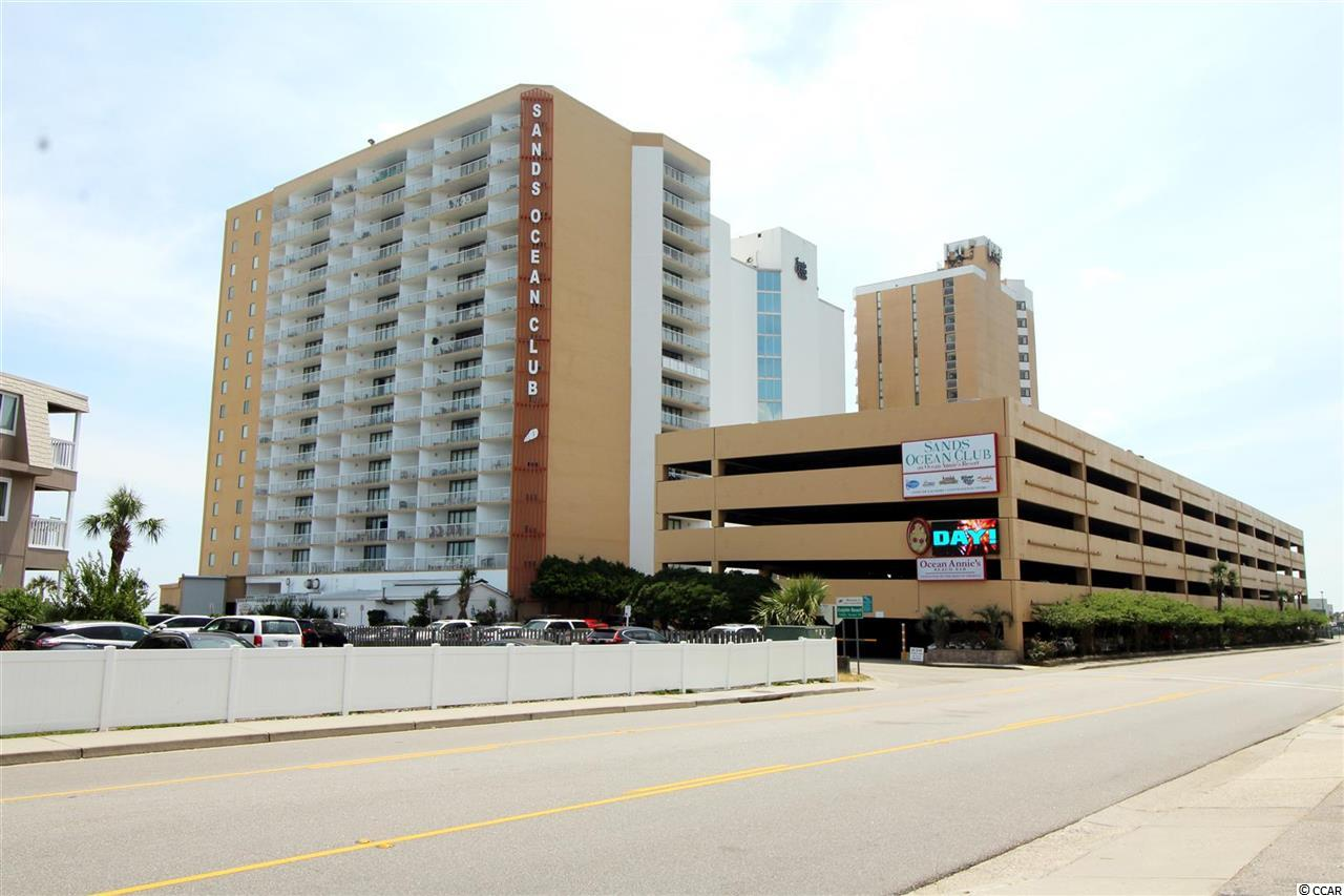 The only DIRECT OCEANFRONT CONDO on the market in the popular Sands Ocean Club! Well maintained Efficiency Unit with 1 full bathroom. LOW HOA fees!!! One of the few buildings in the area where Electricity in Unit & Building Insurance is already INCLUDED in the HOA Fees! The resort offers lots of amenities: indoor & outdoor pools, lazy rivers, fitness center, whirlpool & restaurants. Short distance to shopping centers like Tanger Outlets, Barefoot landing & also some of the nicest Golf Courses that Grand Strand has to offer: Barefoot Resort & Golf, Arcadian Shores and the Grande Dunes. Great Investment property or Second/Vacation home! Come & Check it out Today!