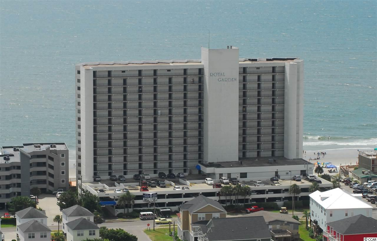 If you are looking for a cute, well maintained, beachfront vacation spot, look no further. 605 Royal Garden is a two bedroom, two bath condominium with a direct oceanfront view and a wonderful new management group that is improving the overall ambiance and function of Royal Garden. The main living space of this unit draws you to the balcony which seems to disappear into the ocean. Spend your mornings basking at the ebbing tide or your afternoons soaking up the sun by the oceanfront pool. Be sure to watch the walking video tour of this property on my YouTube channel. This one won't be around long, so schedule your private tour soon!