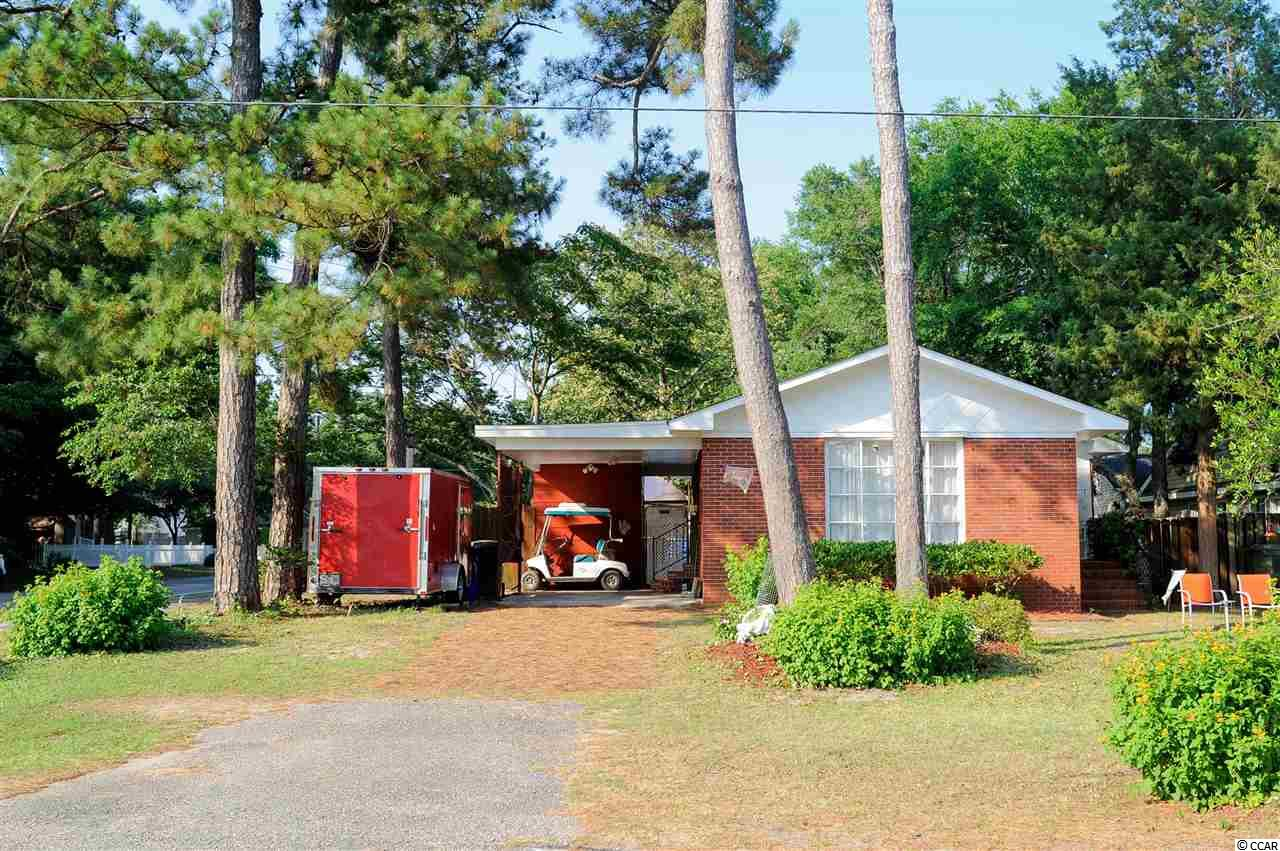 ** Open House Saturday 6/8 from 1 pm - 3 pm ** Look no further! This brick ranch is a short walk to the beach. No HOA and room to store your boat and toys, this 3 bedroom 2 bath home is priced to sell. East of 17, enjoy the desirable corner lot location with fenced yard and large shed. There is an additional storage building adjacent to the carport. Hot tub is negotiable. All square footage is approximate and not guaranteed. Buyer is responsible for verification. (Washer/dryer in kitchen can easily be moved back to laundry room- owner still has kitchen cabinets)