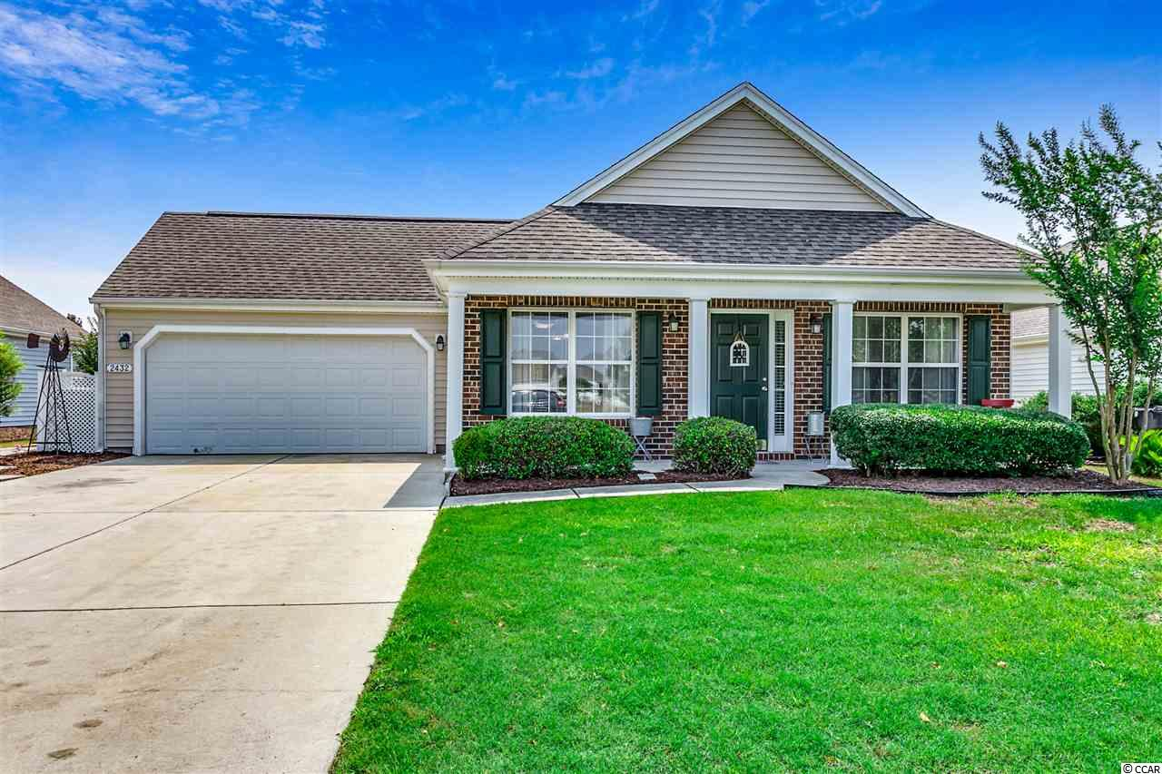 """Wonderful 3 Bedroom, 2 Bath Essex Model home with vaulted ceilings in the main living area, stainless steel appliances in the kitchen and granite countertops. Import things to note. New Carrier HVAC and ultra violet air filtration system installed with Nest thermostat on 06/12/2018. All of the following are new as of June 2017, Roof, appliances, granite countertops, paint, laminate wood floors and carpet, light fixtures and ceiling fans, chair rail, cabinet hardware and door handles. The Farm is a great community with neat """"Farm Themed"""" amenities, including 2 pools, a great playground, a clubhouse, a fitness center, basketball courts and is located close to River Oaks Drive in the popular Carolina Forest area of Myrtle Beach. The property is close to award winning schools and just a short drive to the MB Airport, shopping, dining, entertainment, golf, area attractions, and approximately 10-15 minute drive to the beautiful Atlantic Ocean and all the Grand Strand has to offer."""