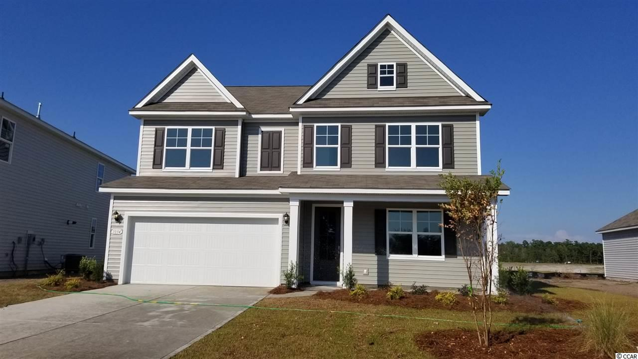 The Forrester is one of our most popular floor plans and it's back in Carolina Forest!  Entering into the home is a gorgeous 2-story foyer with a catwalk overlooking the entry!  A formal dining room is off to the side as you head into your great room and oversized kitchen.  The kitchen features one of our largest islands measuring in at nearly 10' long!  It also boasts a ton of cabinet space.  Lastly on the first floor is a bedroom that's great for guests with a full bath or can double as an office.  Head upstairs to your master suite with a large walk-in closet and bathroom.  2 additional bedrooms with a full bath in between are across the catwalk.  One of the best features is the bonus room with vaulted ceilings over the garage at nearly 19'x19'! (Home and community information, including pricing, included features, terms, availability and amenities, are subject to change prior to sale at any time without notice or obligation.  Square footages are approximate.  Pictures, photographs, colors, features, and sizes are for illustration purposes only and will vary from the homes as built.  Equal housing opportunity builder.)