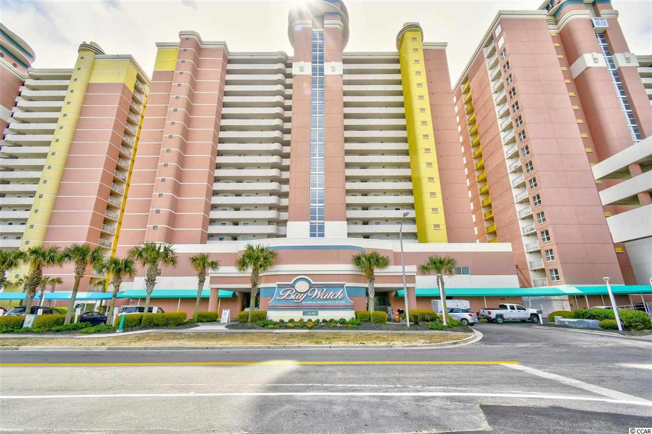 Welcome to this fully furnished 1 bedroom, 1 bathroom condo in the Baywatch Resort. This unit offers full kitchen with all appliances, and a dining area that seats 4. Separate from the bedroom, the living room features a murphy bed for an added sleeping space, an upgraded flatscreen TV, and access to your 15th floor oceanfront balcony with miles and miles of incredible ocean views! This unit also includes a washer/dryer inside, and an owner's closet for added convenience! Baywatch offers the best amenities including indoor and outdoor pools, indoor and outdoor lazy rivers, hot tubs, onsite convenience store, dining, and more. Perfectly situated in the heart of North Myrtle Beach and near all of the Grand Strand's finest dining, shopping, golf, and entertainment attractions. Whether you are looking for an investment property or a vacation get away, you won't want to miss this. Schedule your showing today!