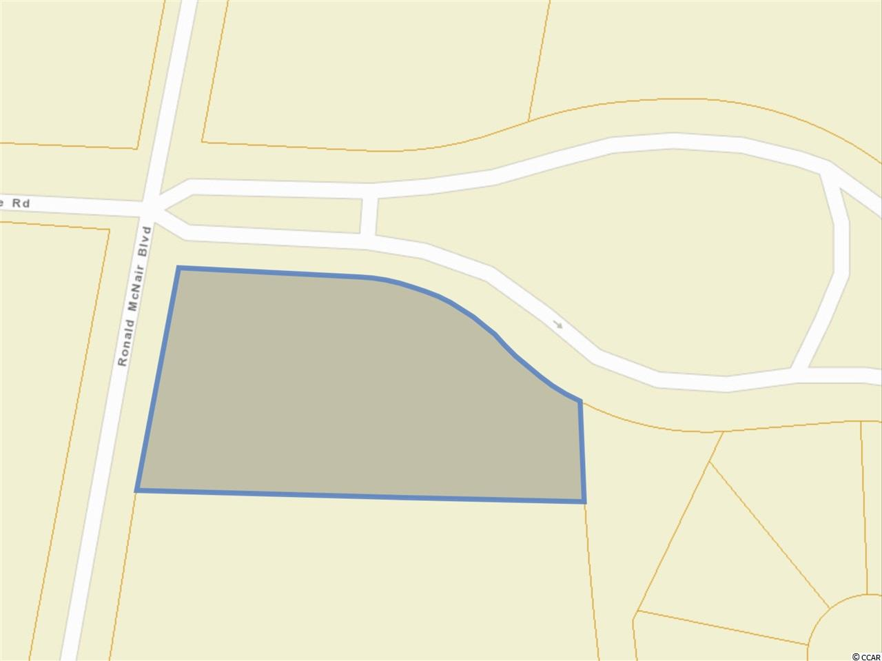 Prime 1.2 acre Highway Commercial lot in high traffic area at the entry to new Bella Vita Development Homes by Beazer.  And the Pine Island subdivision is ready to break ground.  Minutes to the Tanger Outlets.    Great chance to get a commercial foothold on the ground floor before the development is fully built out.   Easy access off Hwy 501 and Forestbrook Road.     All measurements are approximate and not guaranteed. Responsibility of buyer to verify. Deed Restrictions on file.