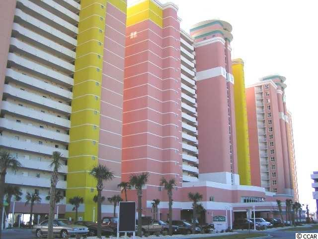 """Come see this Serene Ocean views from this """"true"""" one-bedroom/one-bath unit in North Myrtle Beach's Famous Bay Watch Resort!!  The unit is a slice of heaven that is in the unique """"41-Stack""""on the 18th floor of this beautiful and colorful Resort. Not sold on this condo yet. How about this, can you believe that this unit can easily sleep six people. Comes with a large King-Size bed in the Master Bedroom, a sofa-bed in the living room, and a pull-down Murphy Bed as well.  So there is plenty of space!!  Plus, the unit has wood flooring and tile in the main areas, as well as a stack washer/dryer!!  Think of the rental income or the family vacations for many years of memories. This resort has everything you need, such as Lazy rivers, multiple indoor and outdoor pools, a tiki bar, exercise room, children's activities, Ball Rooms, onsite restaurants and so much more. So, what are you waiting for?? Grab your beach towel and toothbrush so you can start to enjoy the """"BEACH LIFE""""!!"""