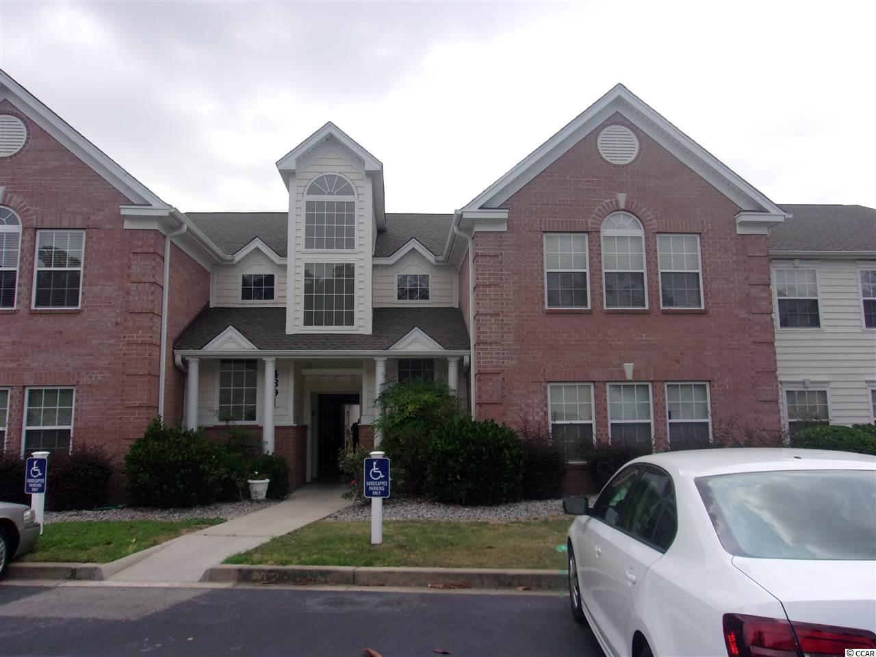 Meticulously maintained first floor condo in sought after Riverwood subdivision. Master bedroom with large walk-in closet, master bath with garden tub and separate shower, large living area with Carolina room on rear. New roof 2017, HVAC system only 5 years young, new hot water heater withing the last 4 years, dishwasher 2 years and washer/dryer 2 years. Gorgeous sitting area in the rear with beautiful pond view. Conveniently located close to beaches, shopping, Tidelands Hospital, Murrells Inlet Marsh Walk, restaurants, Brookgreen Gardens and Huntington Beach State Park.