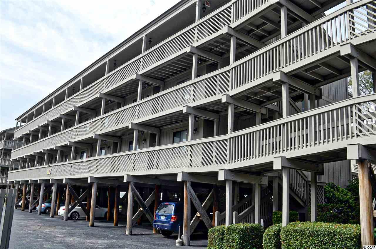 Shipwatch Pointe II N105 is a beautiful 1 bedroom, 1 bath condo being sold fully furnished. This unit features a spacious living and dining area with a full kitchen, and a large balcony overlooking the nicely landscaped courtyard. There is a king size bed and a walk-in closet in the master bedroom. The exterior storage closet provides a place to store all your beach and fishing gear. The community features an outdoor pool, a spa/hot tub, a heated indoor pool, plus a grilling area all situated in a beautiful center courtyard. Shipwatch Pointe II is a second row beach community located in the popular resort destination known as Shore Drive in the Arcadian Shores section of Myrtle Beach, just steps to one of the nicest sections of beach on the Grand Strand. You can enjoy fishing on the Apache Pier, having a refreshing beverage at Ocean Annie's, a great burger at River City Cafe, a leisurely stroll on the beach or just relaxing on the beach with a great book, all within walking distance. Within a short drive, the shoppers in the group can find the Tanger Outlets, Barefoot Landing and Broadway at the Beach. Also nearby are some of the best dining options on the Grand Stand, numerous entertainment venues and of course great golf courses. All measurements and square footage are approximate and not guaranteed. Buyer is responsible for verification.