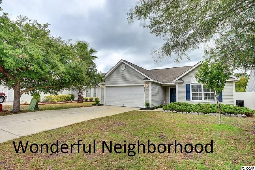 This is a 3 bedroom 2 bath remodeled ranch home located in the sought after Avalon Subdivision which is located in the award winning Carolina Forest School District. From the time you pull in and see the gorgeous entrance of Avalon Subdivision, with its beautifully landscaped Waterfall entrance, you will instantly fall in love. The home has a completely open concept that makes the home perfect for living and entertaining. The home recently has been painted a with a neutral Sherwin William's Frosty White which is a very light grey. This color will work fantastically with any accent colors you choose. The main living area has an upgraded weathered grey toned engineered wood floors, that adds tons of character. All of the bedrooms have new 8 lb padding and carpet for your comfort. The kitchen has new countertops, a new garbage disposal,a new sink and faucet, a new stainless whirlpool Stove, a New Stainless Whirlpool Microwave and a New Stainless Whirlpool Dishwasher. All the bedrooms, dining room and living room, closets, and foyer have new ceiling fans and light fixtures. Both bathrooms have been upgraded with new toilets. The garage was finished and the walls insulated so that this area could be used as a flex room if extra room was needed for a man cave. This home is truly MOVE IN READY! The subdivision has an array of amenities including picnic areas, softball fields, soccer fields, pools, etc. Everyone in your family will love to call this location HOME! Don't miss out on this jewel because it is a true deal in its price point. Make an appointment for your private showing today.