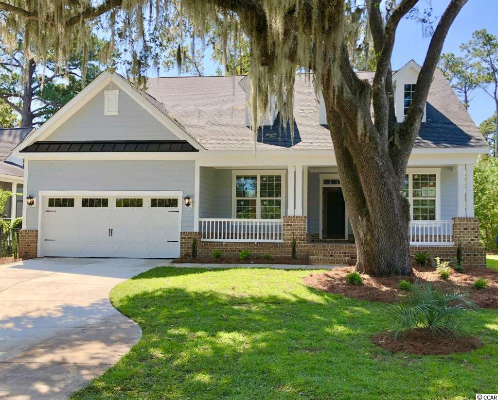 "Come home to historic Litchfield Plantation, where the streets are adorned with live oak trees draped with Spanish moss. Enjoy the Pawleys area amenities as well as community offerings, including a pool and an ocean front beach house. The Plantation is situated on the Waccamaw River overlooking the rice fields. This home features a formal entry with 5"" wood floors that flow throughout the main level. Enjoy a gourmet kitchen with separate cooktop, pot filler, soft close drawers and quartz countertop. This is a 100% energy effect home. (Photos are of a previously built model and are for representational purposes only.)"