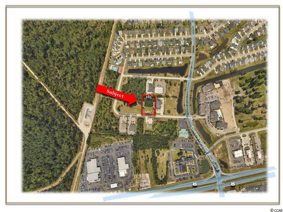 OFFERED FOR SALE this 0.76 acre lot is centrally located in the midst of one of the Grand Strand's most dynamic, growing areas. Located near the intersection of Highway 544 and Highway 17 By-pass, this site is surrounded by major regional retailers such as Lowe's Home Improvement, Hamricks, Kohls, Ross, Office Depot, Wal-Mart, Starbucks and Target.  In addition, there are many existing as well as developing multi-family and single-family communities.  This property offers maximum exposure to resident commuters and tourists.  The immediate neighborhood is perfect for medical and professional office use.   GENERAL SITE INFORMATION: Approximately .76 +/- Acres Approximately 165 +/- Feet of Frontage on New Castle Loop   ZONING:            Planned Development District (PDD), County of Horry, SC.