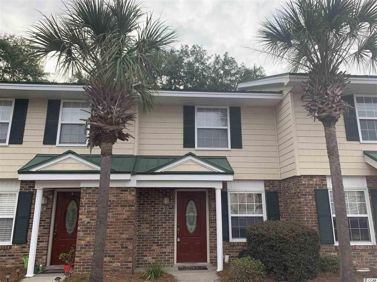 Great location close to Coastal Carolina University, Hospitals, and just minutes from beaches, golfing, dining and entertainment. This freshly painted and newly carpeted 2 bedroom condo will make a great primary, second or investment property. Priced to sell so don't hesitate, call today.
