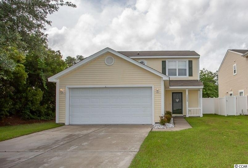 3 bedroom 2.5 bath 2 story home located in the Avalon section of Carolina Forest. Home is on a corner lot and situated on pond with neighbors only on one side with other side wooded. Well kept open floor plan with upstairs BDs, 2 car garage, paved driveway and back patio overlooking pond are just a few of the features. Carolina Forest school district. Home is approximately 8 miles from the beach. Avalon as a community is located in Carolina Forest which is located close to shopping, restaurants, attractions and provides easy access to both Highway 501 and 31, making Avalon an ideal location for anyone needs quick access to travel.