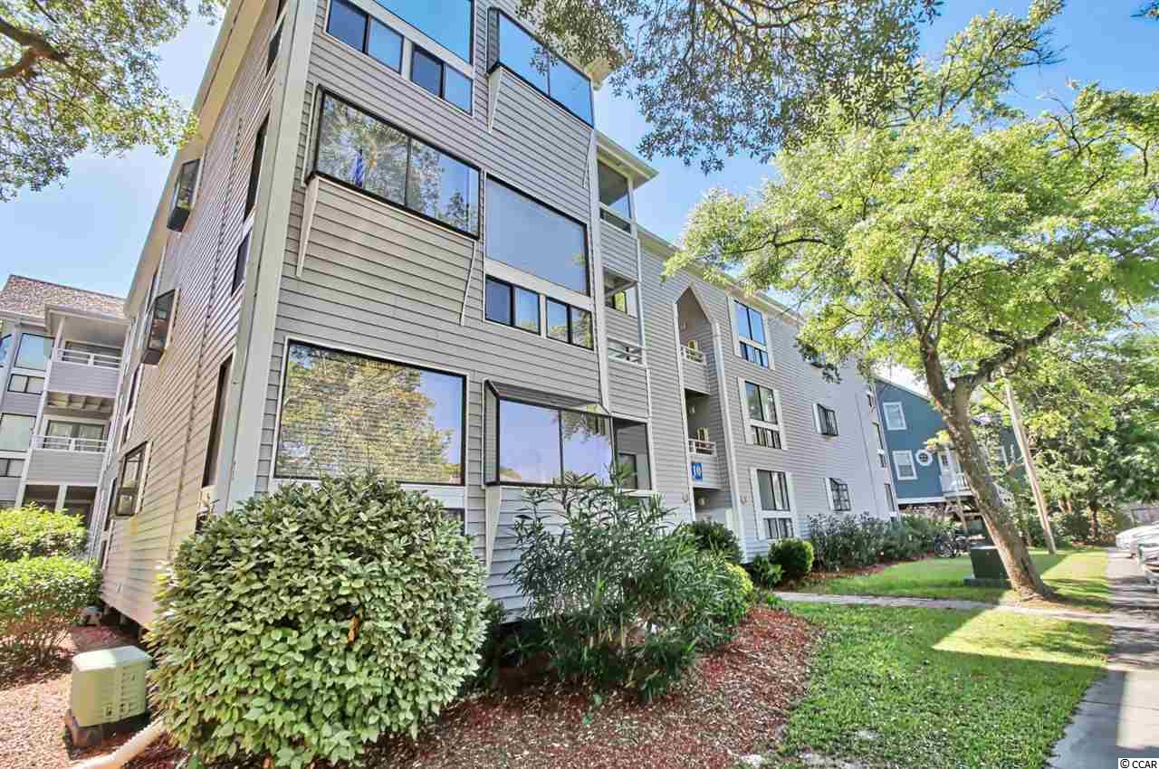 This Fully furnished 2 bedroom 2 bath is the nicest in the community. Beautifully updated with upgraded cabinetry, granite and stainless steel appliances. HVAC was replaced in 2016. Owners may have a golf cart, pets, and motorcycle. The complex has an on-site restaurant, tennis courts, numerous grilling areas, two pools, Jacuzzi, sauna, steam room, and playground. Harry the Hats also has a large indoor arcade with pool tables. This is a turnkey opportunity to enjoy life at the beach in the Shore Drive area of Myrtle Beach! This is a perfect getaway or investment property and is within walking distance to the beach.