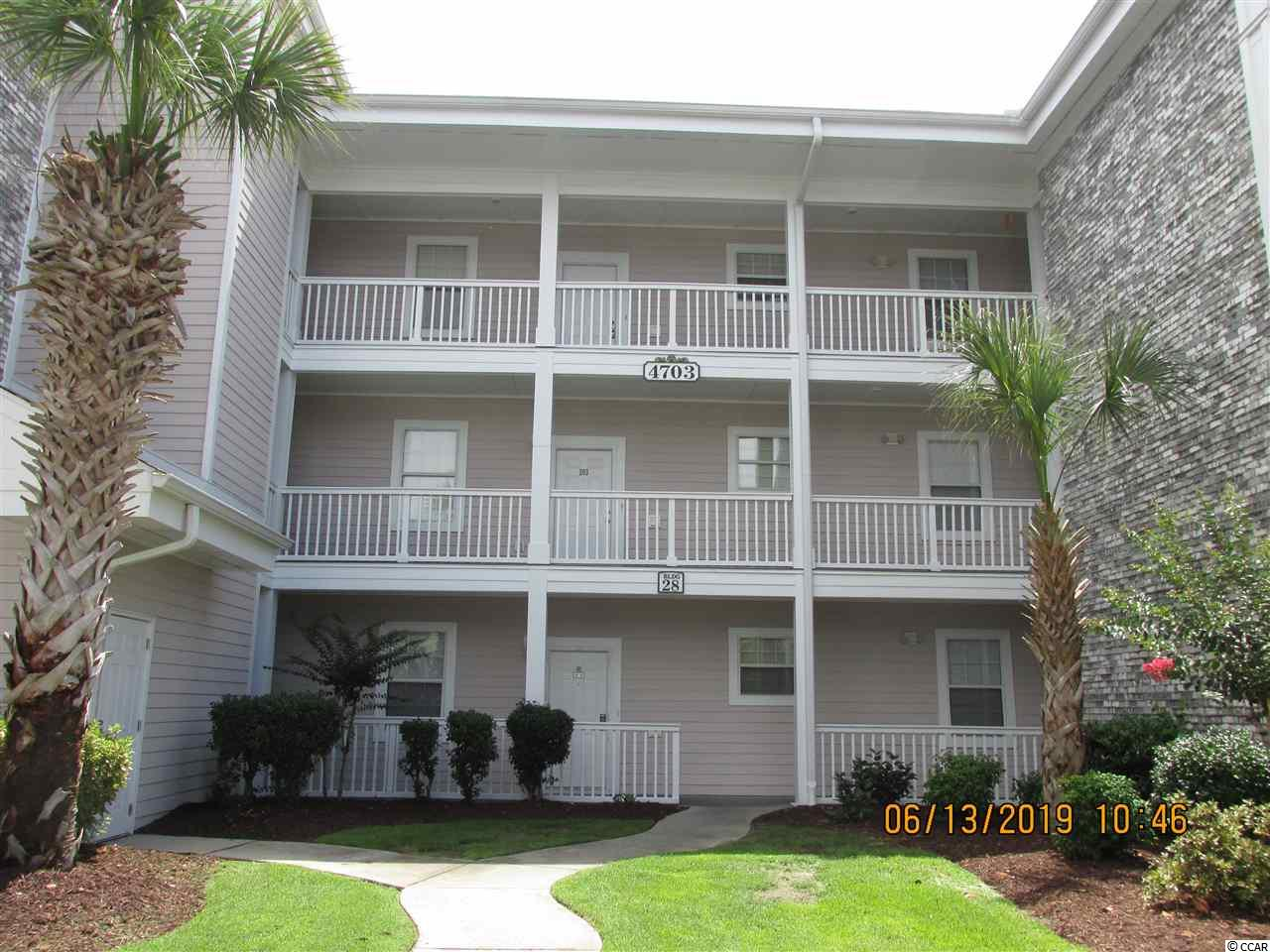 NICE FURNISHED 1 BEDROOM 1 BATH FIRST FLOOR UNIT LOTS OF LIGHT IN EXCELLENT CONDITION.CLOSE TO SHOPPING, BEACHES, RESTAURANTS, GOLF COURSE, BROADWAY AT BEACH. THIS CONDO IS GREAT FOR YEAR ROUND OR VACATION HOME.