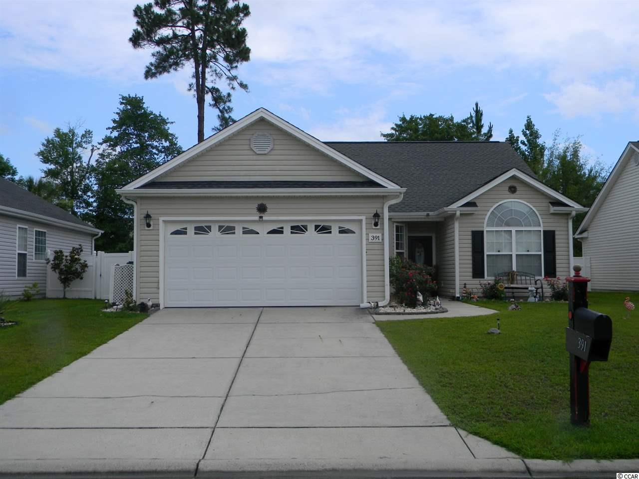 Welcome to Turtle Cove, which is located in the award winning Forestbrook and Socastee school districts. This smaller community is centrally located to all of the wonderful amenities Myrtle Beach has to offer.This community has a private pool for the residents. Upon entering this home you will immediately notice the vaulted ceilings and custom ceramic floors throughout the main living areas. Ceramic floors easy to maintain floors stay cool in the summer and warm in our mild winters.  The vaulted ceilings give the great room an open and airy feeling. The open concept kitchen features over sized cabinets, new appliances and plenty of counter space. The split bedroom floor plan has 3 large bedrooms and 2 full baths. The Master suite had a huge walk in closet and plenty of windows to let in our Carolina sunshine. The Master Bath features duel vanities, garden tub and a separate shower. Off of the great room is a wonderful covered porch with an extended entertaining area. This is the perfect spot to spend a lazy afternoon or a relaxing evening outdoors.  This backyard is completely fenced so it is perfect for anyone with children or pets.This home also has extra storage over the extended 2 car garage. If location and value are important to you then do not hesitate to make an appointment to view this home.