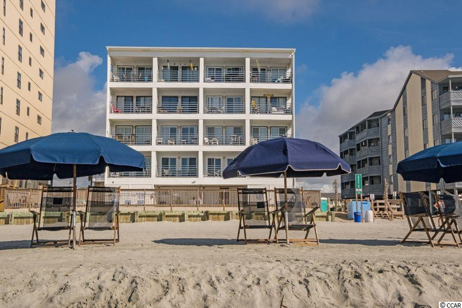Here is a completely renovated from top to bottom direct oceanfront condo!!! Spacious one bedroom in an elevator building with a pool. Unit has brand new flooring throughout, a totally new kitchen with granite counters and stainless steel appliances. The dated popcorn ceilings were removed, great room opened up and the entire unit repainted including ceilings. The owner has meticulously decorated the unit with brand new high-end furnishings, lighting and decor. Call today to setup a showing as this will not last long because summer is here already on the Grand Strand!