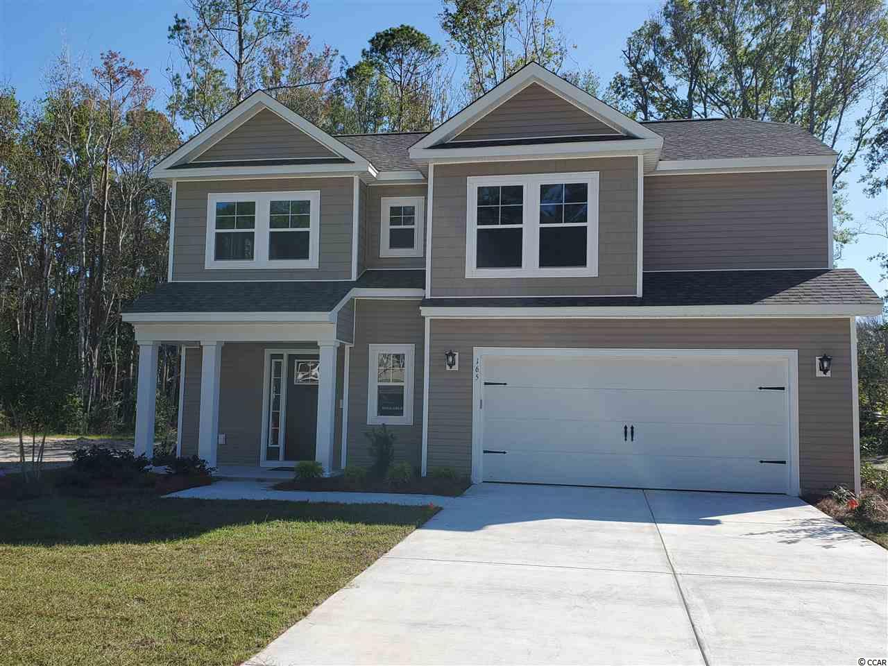 Welcome to 163 Clearwater Dr in Pawleys Cove, one of Pawleys Island's hottest new communities. This 3 bedroom, 2.5 bath home is currently under construction. Home features an open living concept with amazing natural light and a split bedroom plan. Kitchen features an island with double sink, granite countertops, stainless appliances a corner walk-in pantry and a large breakfast nook. The living area is open to the kitchen with plenty of natural light. The master suite is 13x13 giving you plenty of room to relax. The master bath features double sinks, shower, private water closet, a linen closet and a walk-in closet. The two additional upstairs bedrooms are spacious with great closet space and share a hall bathroom. You have a great laundry room and 2-car garage with an additional knock out area and side exit door. Home does have a front covered porch and a great back screened porch. Pawleys Cove is nestled in the tranquil Pawleys Island community. Pawleys Island is a famous seaside town known for its laid-back lifestyle and timeless culture. Often referred to as arrogantly shabby, we are sure that you will enjoy many happy memories in your new Pawleys Cove home. All information is deemed reliable but not guaranteed. Buyer is responsible for verification.