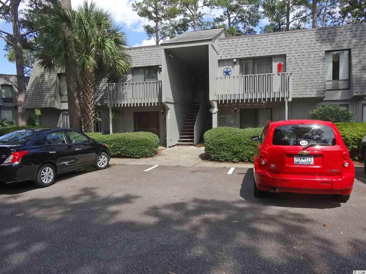 First floor condo overlooking the lake at Salt Marsh Cove. Two bedrooms, two full baths. Living room with fireplace (electric) and sliding glass door to patio. Salt Marsh Cove is 5 minutes to Litchfield Beach and convenient to shopping, restaurants, golf courses and all that the Grand Strand has to offer!