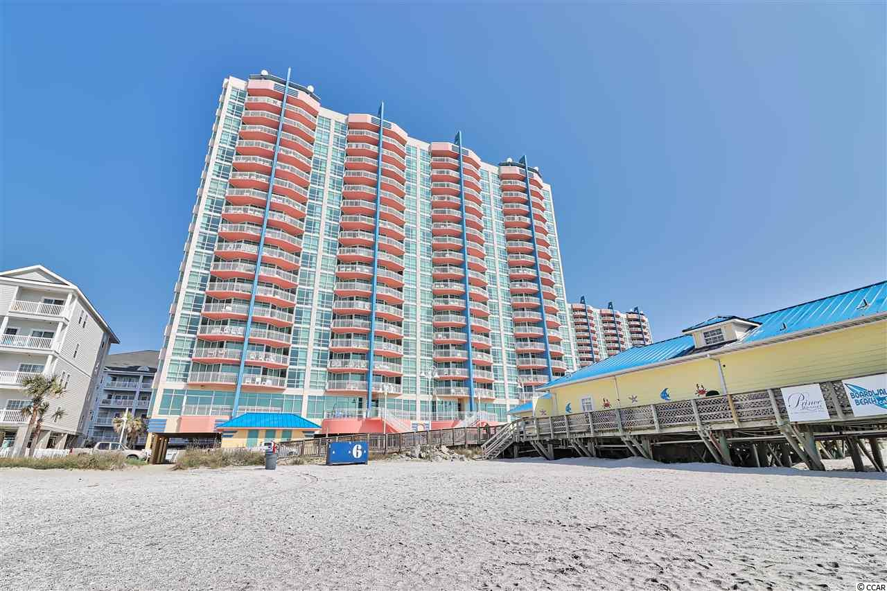 The Prince Resort is located directly at the Cherry Grove pier, with bar/restaurant and some of the best fishing on the beach!  Loaded with amenities, this Resort is THE place to be in Cherry Grove!  These 1 bedroom end units have fantastic ocean views from the floor to ceiling glass windows, along with marsh views from the balcony.  So many things to do in North Myrtle Beach, and just a short car ride from the Prince.  These units also have a washer/dryer in the room, and a separate bedroom as well.  Schedule your showing today!