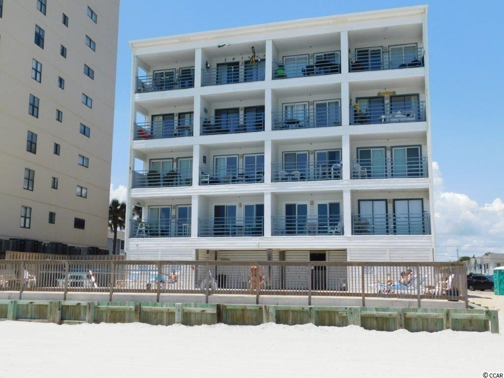 Direct oceanfront condo in Garden City in an elevator building. Kitchen was remodeled in 2013 with new appliances and the HVAC was replaced at the same time. Comes fully furnished and freshly painted and has built-ins in the living area that convert to bunk beds. This unit is turnkey and ready for you to start enjoying your little slice of paradise, just bring your suitcase. Great rental or investment too! Located in the heart of Garden City, just a short walk to the famous Garden City Pier. Complex has on-site laundry room for extended stays. Square footage is approximate and not guaranteed. Buyer is responsible for verification.