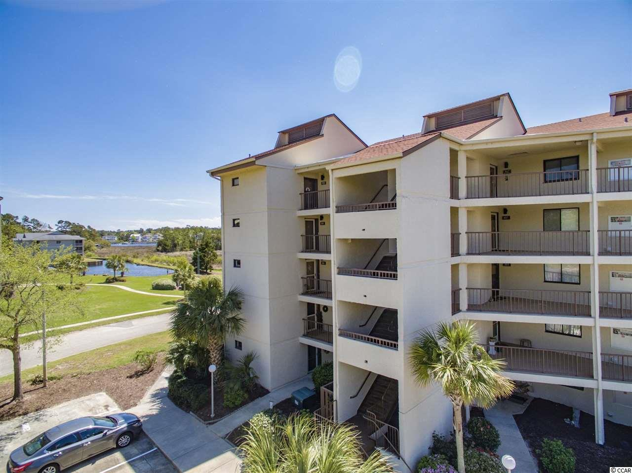 You will love the privacy of the water views from your oversized balcony at this price! You may live outside at this one! Not only do you have a huge balcony for entertaining and great views, but youcan enjoy the boaters life because this condo comes with a 42 ft. boat slip included in the sale! This spacious 2BR/2BA condo in Little River is calling your name for the perfect water life! Come put your personal touch on this condo with some updating and you will have a rare opportunity to own a unique property that doesn't come available often in this building. Minutes to the beach, a boaters paradise, and a private, secluded best kept secret in Little River. Don't wait!