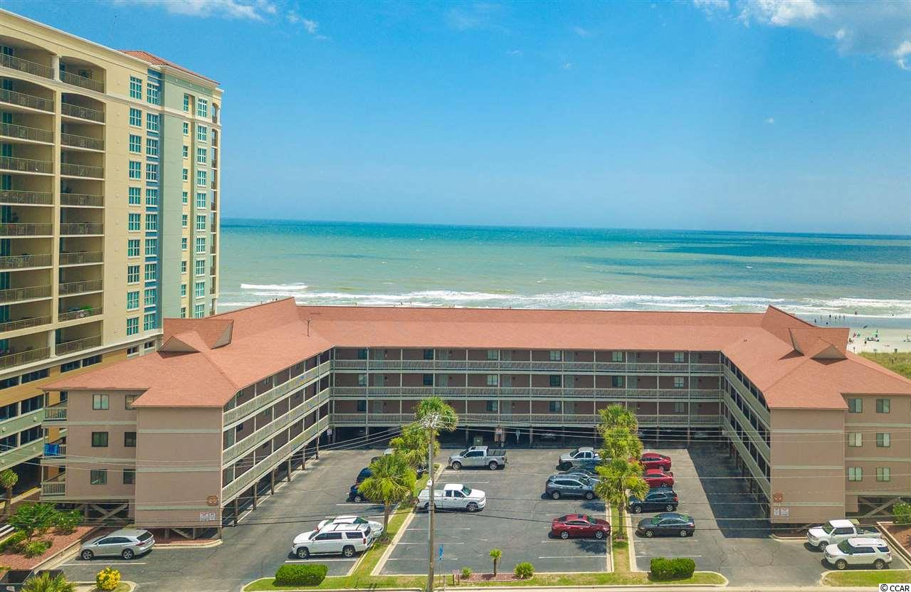 """Looking for a beach home that is move-in ready?  Don't miss out on this amazing """"turn key"""" condo in impeccable condition.  From the open-concept kitchen and living space to the oversized balcony, there is plenty of room for the whole family to enjoy. Super low HOA fees includes a lot, ask your agent!  This incredible condo was completely renovated in 2014 - including new laminate floors, painting, stainless steal appliances, granite countertops, updated bathrooms, and kitchen.  Air condition and hot water heater replaced in 2018. New bedroom furniture and washer/dryer.  Couch pulls out to a sofa-bed so you can comfortably sleep 6. This oceanfront building offers a beautiful outdoor oceanfront pool, large sundeck, and grilling area steps away from the beach. Just 6 blocks from Main Street in North Myrtle Beach which is within walking distance to restaurants, shopping, festivals, outdoor concerts, and more. This property is a prime spot and won't last long. Never been rented so it's in perfect shape. Would make a great second home or investment/rental property. Schedule a showing today!!!"""