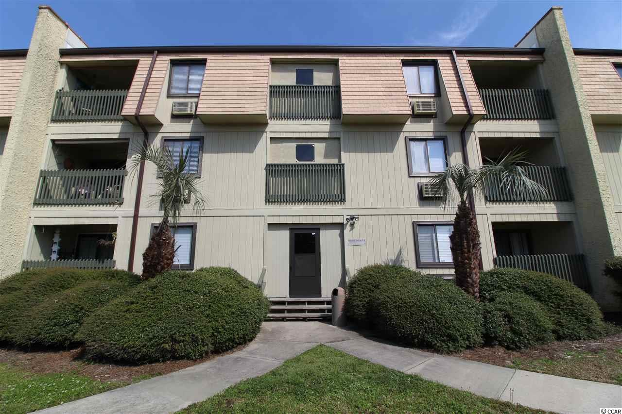 Rare find this 1st Floor condo is move-in ready - less than 2 blocks from the beach - 21st Ave has Public Access for your convenience - just waiting for you! Currently unoccupied and ready to be seen. Current owners did not rent - slightly used by Friends & Family. New AC installed 8/19 - all new linens - towels - comes completely furnished. Low HOA that includes insurance, pool, lawn/building maintenance. Washer and dryer combo in unit (unlike many in building) 1st floor in building with stairs with extra lockout closet in building and 2nd Full Bathroom. Golf cart friendly community with charging stations in parking lot. Large Pool area - very quiet but so close to the Ocean! This has so much potential - Short Term rentals are permitted.
