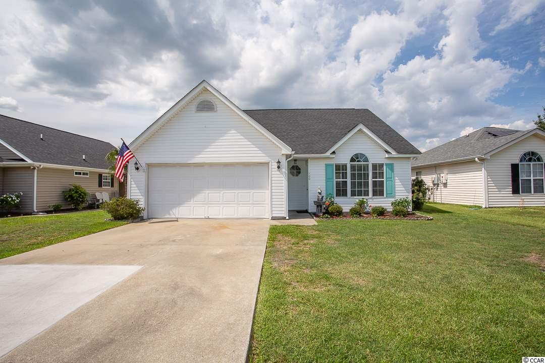 What a great opportunity to live close to the beach in a small neighborhood community with only 82 homes. This home has 3 bedrooms and 3 full baths with an office. The first floor level features the master bedroom with en suite bath, office, full guest bath and main living area. The kitchen has been updated with granite countertops and new sink in June 2019 and the appliances and vinyl tile floors are just 2 years young. The living area is open and airy with vaulted ceilings and lots of natural light. The second floor is perfect for guests or family with 2 bedrooms and a full bath with double vanity. The private back yard is fenced with an above ground pool. Only 2 miles to Surfside Beach pier and centrally located between Coastal Grande Mall, the airport, Market Common and the Murrells Inlet Marshwalk, Brookgreen Gardens and Huntington State Park. Yes! You can golf cart to the beach or grocery store. Call for a showing today! Square footage is approximate and not guaranteed. Buyer is responsible for verification.