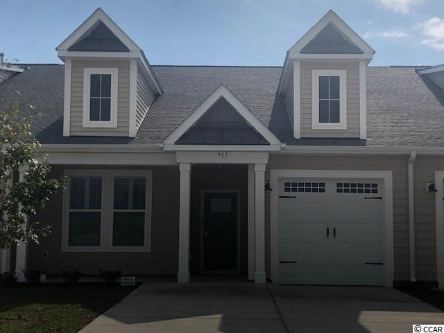 Take in the ocean breeze living in this single level Villa located in Bridgewater!  The Cherry Grove features 2 bedrooms and 2 full bathrooms plus a study/dining room. With over 1400 heated sq. ft. this coastal-living home features both a master suite and an additional bedroom all on one level. Plus, a separate room that can be used as a study or a dining room.  Enter The Cherry Grove from your covered front porch or your one car garage. Easily entertain or host large gatherings with an open living with tray ceiling and kitchen area. A large Island offers additional seating. Whatever your needs may be, this interior model with ceiling is the home for you! Open relaxing rooms offer plenty of space for you to experience the natural beauty of coastal living.