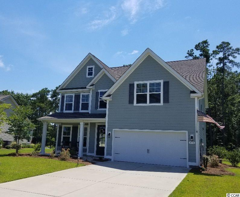 Bring the kids; bring the pets.  This practically new 5 bedroom home is a family's dream with a completely fenced backyard (we'll even leave the playset). Located in the quiet gated community of Lakeshore.  This home is close to everything Murrells Inlet has to offer: many area golf courses, shopping, the Marshwalk and other restaurants with a variety of cuisine, marinas , not to mention the beautiful Atlantic Ocean beaches.  What's not to like? Square footage is approximate and should be verified by buyer(s).