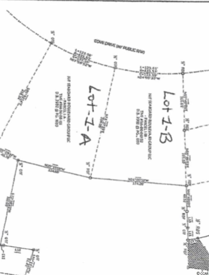 Amazing opportunity to build your Dream Home in Dunes Cove. This .75 of a Acre lot provides massive space and privacy to Build exactly what you want. No HOA- only a voluntary fee each year! Do not let this once in a life time opportunity pass you by! This amazing lot is located less than a 1/2 mile from the ocean and is a easy golf cart ride to the ocean..*** Agent related to owner.