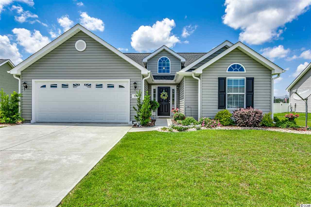 Less than 2 miles to the beach and conveniently located between 17 business and 17 bypass you will find this property. Walk past a beautifully landscaped yard and step inside this almost new home built in 2017. With a split bedroom floor plan it is sure to be just what you are looking for. Entertain all your friends and family with the open concept, hang by the breakfast bar overlooking the perfect sized kitchen featuring a full size pantry, or relax on the screened porch while enjoying the oversized fenced in backyard. The well placed bay window is just what you need giving you extra space in your dining area and the large walk-in closet will accommodate everything you need in the master bedroom. Be sure to check out this home before it is sold! Square footage is approximate and not guaranteed. Buyer is responsible for verification.