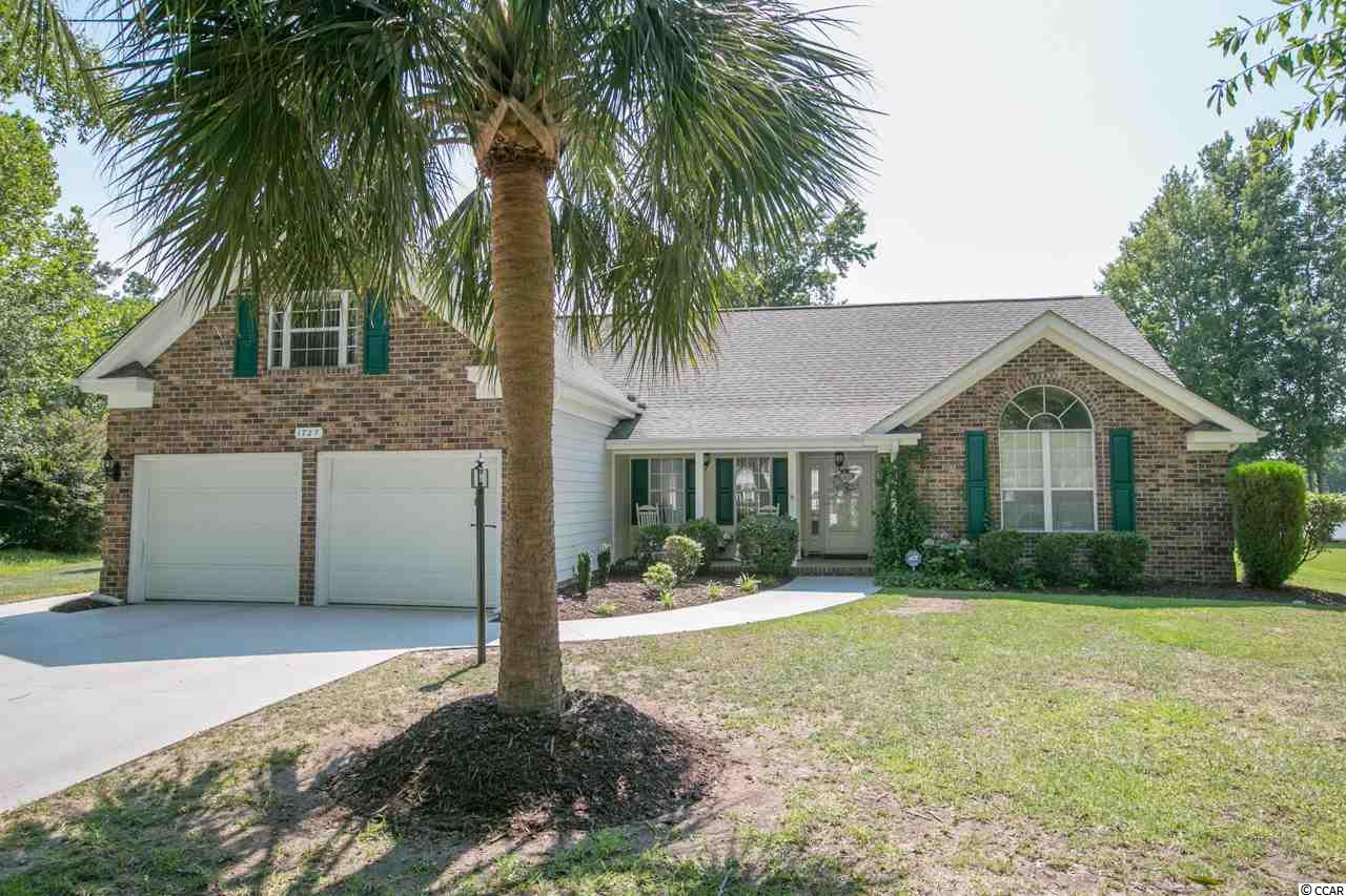 A lakefront well loved home with private dock located in the established community of Southwood and less than 2 miles to the beach! Offering 3 bedrooms, 21x12 bonus room, 2.5 baths, a living room and formal dining area with vaulted ceiling that gives an airy spacious feel. Just off the living room there is a 16x10 Carolina/family room with tile flooring that gives you a great space for relaxing and entertaining. Sliding doors lead to the patio and a 23x10 screen porch. The eat in kitchen also has a sliding door leading out to screen porch, tile flooring, all the appliances, all 2019 new granite counter tops, new stainless sink with goose neck faucet and new cabinet doors. The master suite boasts a tray ceiling, sliding door to porch and a master bath with a whirlpool tub, separate shower and his and hers closets. Two additional large guest bedrooms and full bath are located on the other side  of the home giving privacy to the master bedroom. Front porch for your rockers, nice size 2-car garage with space for workbench, 100 sq. ft. of walk in attic storage space, gutters, irrigation system, roof 2014, HVAC 2013, water heater 2019, storm door 2019, dishwasher 2019, microwave 2015, refrig 2018, sunroom 4 windows replaced 2017, bathroom windows replaced 2019. PLUS...two community pools, the Market Common, Myrtle Beach oceanfront State Park, Huntington oceanfront State Park, airport, championship golf courses, the Murrells Inlet Marshwalk, Brookgreen Gardens all just minutes away. Call today to see this lovely home. Square footage is approximate and not guaranteed. Buyer is responsible for verification.