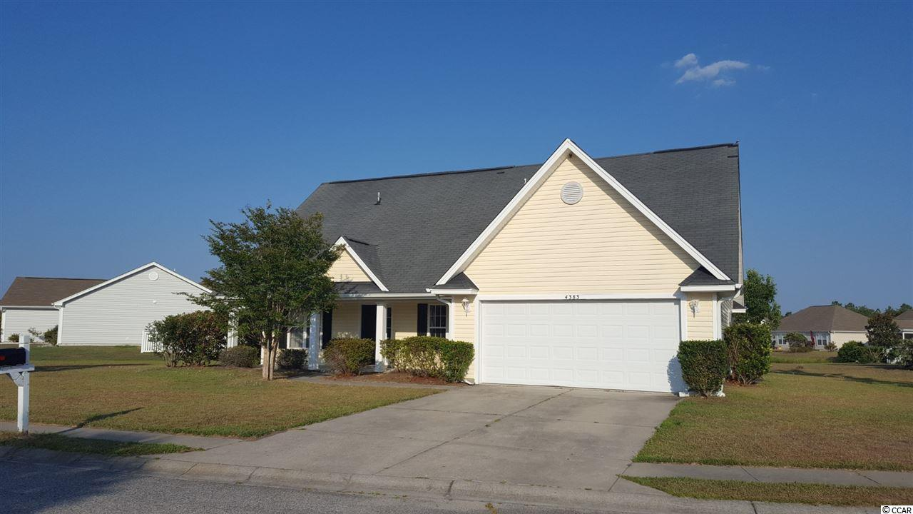 Own your piece of Carolina Forest with this 3BR / 2.5 BA home with great pond views from several rooms throughout the house.  New flooring in living room, master BR & bath.  New carpet in upstairs rooms and new paint throughout.  Large kitchen, screen room, 2 car garage.  Great schools and a neighborhood pool.  And yes you can catch fish from your own backyard.