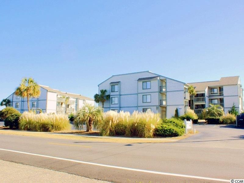 Gorgeous & Well-appointed, Direct Oceanfront, 3 Bedroom, 2 Full Bath Corner condo located in Sea Cloisters I in beautiful Surfside Beach. Large direct oceanfront porch! Spectacular Oceanviews from ALL rooms except bathrooms! Coastal grays, whites and blues throughout! This condo was renovated in 2017 which included all smooth, flat ceilings, new wide plank, wood floors throughout living, kitchen, dining and baths and new carpet in all bedrooms. Entire interior was painted in 2017. All new windows (except 3rd bedroom in back-was in good condition) were installed in 2017 including slider! New décor, furnishings and 4 new Samsung Smart TV's added! Both bathrooms were gutted and ALL new tub, shower, sinks, vanities, paint, toilets (dual flush), showerheads and faucets, towel bars, etc... as well as kitchen cabinets painted with all new hardware added, new microwave and all new dishes and small appliances, pots, pans, new kitchen sink and faucets, new furnishings, new master bedroom memory foam mattress, all new ceiling fans and lighting/ light fixtures and lamps all in 2017. This unit is an end unit and has a LARGE exterior storage room outside of front door and a laundry room inside the condo. Complex has a gorgeous oceanfront POOL!