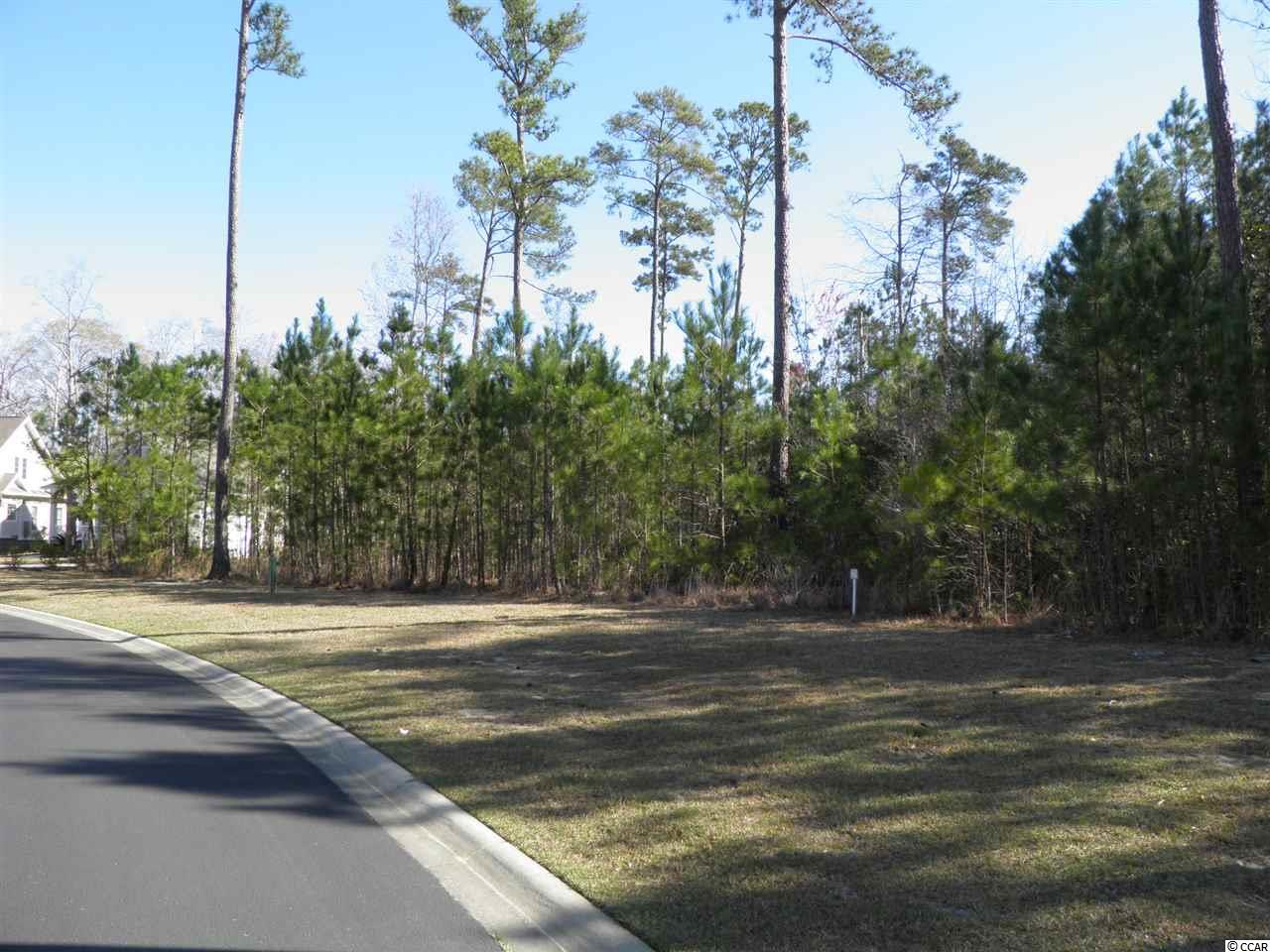 Home site is located in a custom neighborhood of the Bays of Prince Creek. A gated community in Murrells Inlet near TPC players golf course. The Bays community includes a ten acre amenity center with 2 pools, club house, lighted tennis, picnic area and more. Short drive to shopping and Murrells inlet restaurants for some of the best seafood our area has to offer. No time frame to build and you can pick your own builder.