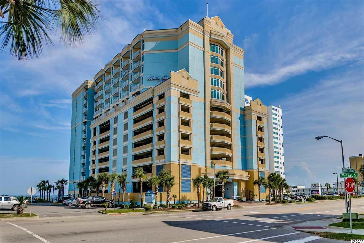 Great 1 bedroom, 1 bath at the family friendly Holiday Sands resort in Myrtle Beach- great for a second home or as a rental property! Resort amenities include indoor and outdoor pools; lazy river; splash decks; sunning lawn; oceanview cafe; fitness center; business center and more!
