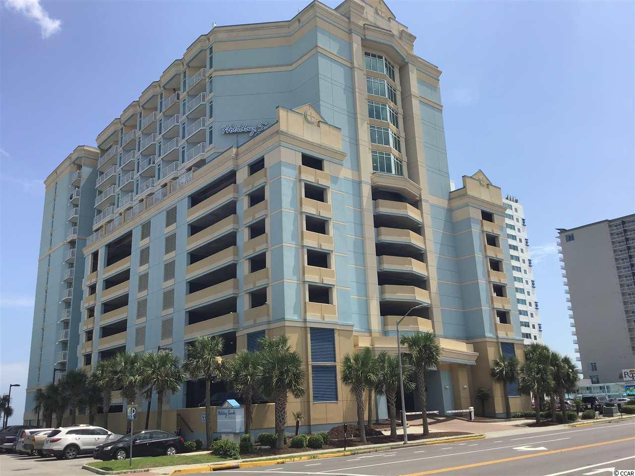 This is a well maintained end unit. It has an extra large balcony due to it being a corner unit. It is facing north so you get the sunrise and a great view of the ocean. Has one bedroom with and also a Murphy bed in the living room. Has a full size kitchen and appliances. Also has a stacked washer and dryer for your convenience. Unit is furnished so you can move right in or rent the unit out.