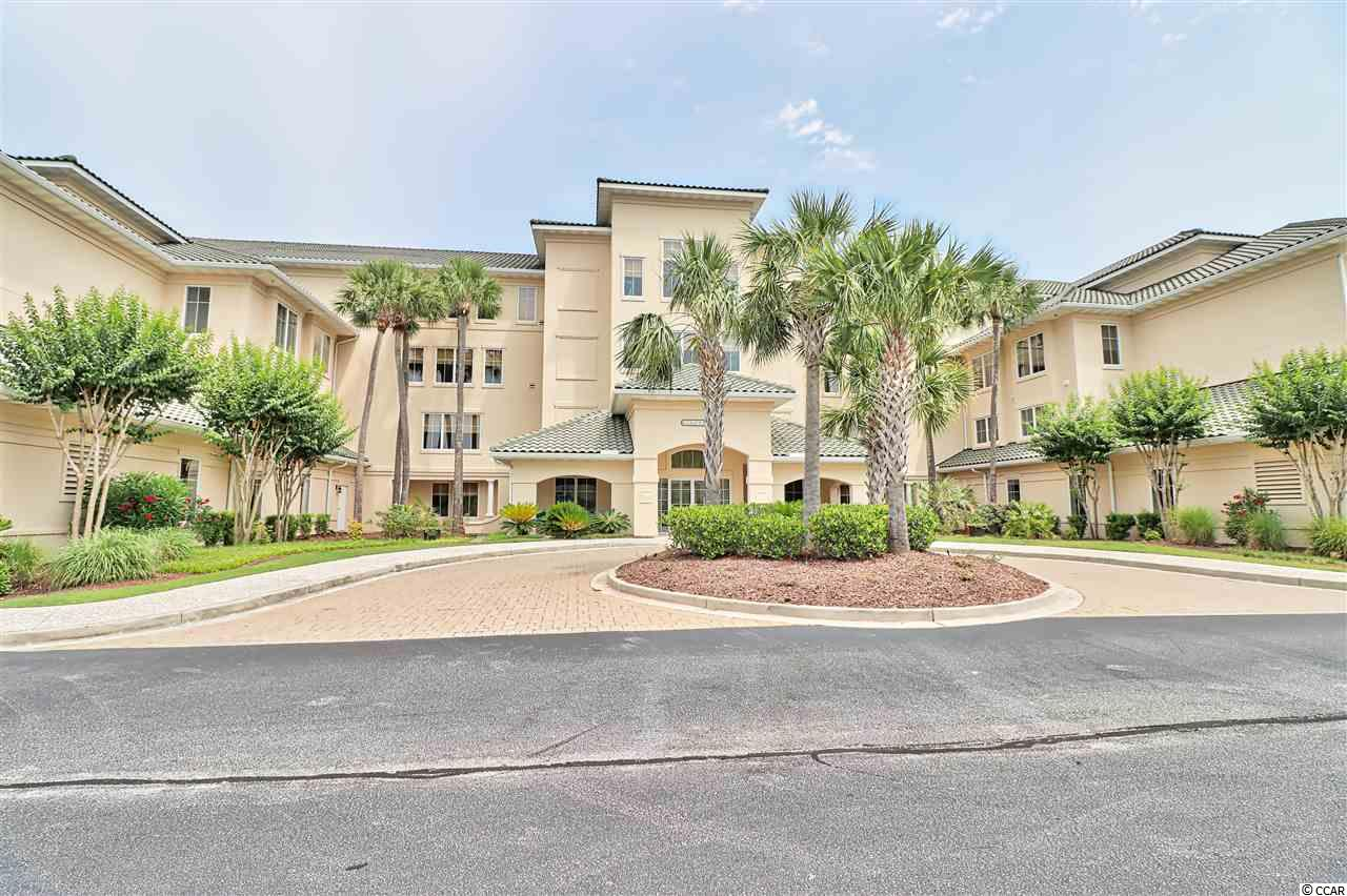 Located in the gated community of Edgewater in Barefoot Resort, this two bedroom, two bath unit overlooks hole 15 of the Greg Norman golf course. Enjoy the tranquil views from both bedrooms and the screened balcony. This nicely furnished unit has a split bedroom floor plan and a spacious galley kitchen and living area. Also, this unit has plenty of storage space with 2 storage closets--one in the hallway outside the unit and a larger one in the garage. There is an assigned parking space in the garage for this condo as well. Edgewater has its own clubhouse with a gym, hot tub, and fantastic pool area overlooking the Intracoastal Waterway. Come and enjoy all the amenities Barefoot Resort has to offer--four championship golf courses, large practice facility/driving range, onsite restaurants, Barefoot marina, private beach cabana with private parking for owners, and shopping boutiques located in Barefoot Landing.