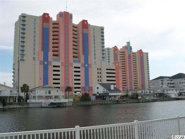 This beautiful 1BR/1BA ocean view condo has everything you could possibly want.  Unit is located on the pool deck floor and has many great features such as new stainless steel microwave, new stainless steel dishwasher, new table, newer HVAC unit, mattress, paint, lamps, artwork, curtains, high ceilings, large balcony, one way tint windows and closed climate controlled corridor.  Enjoy all the benefits of on-site covered parking, roof-top water amenities,  ocean view restaurant, bar, grille, and just steps from the famous oceanfront Cherry Grove Fishing Pier. Pools, hot tubs, lazy river, fitness center, upscale restaurant & lounge with seasonal entertainment, tiki bar & grill on the oceanfront, sun deck, conference & meeting rooms & plenty of parking in 2nd row garage.  HOA inlcudes all utilities and insurance (building insurance and H06 contents).  Schedule a showing today!!